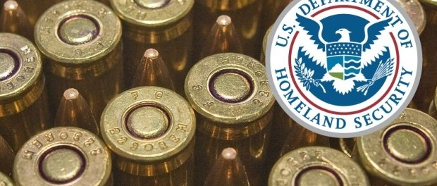 DHS Ammo purchase 1.6 billion rounds