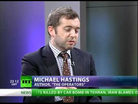 Michael Hastings on 'The Operators'