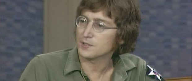 John Lennon in US Army Jacket