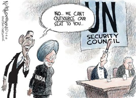 Outsourcing to UN