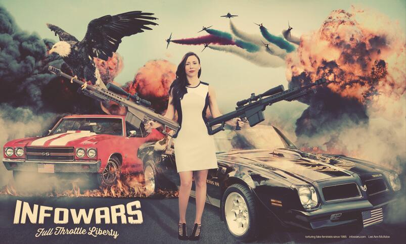 Infowars – Full Throttle Liberty (Lee Ann McAdoo)