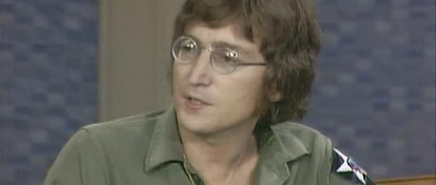 John Lennon in US Army Jacket