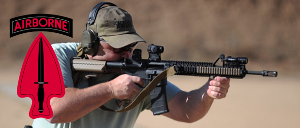 Former Delta Force assaulter Larry Vickers
