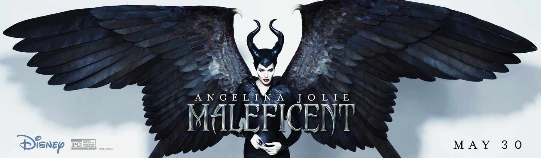 "Angelina Jolie as Disney's Maleficent ""Mistress of All Evil"""