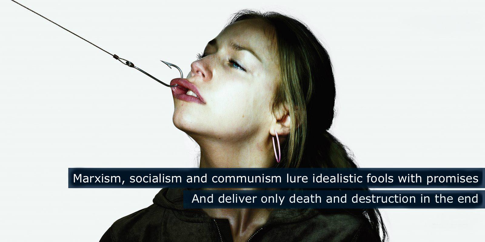 Marxism-Socialism-Communism-Promises-Destruction